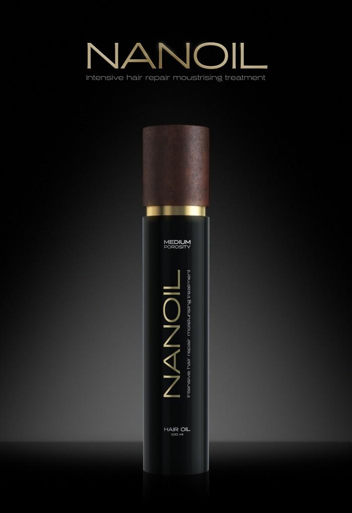 Haaröl Nanoil für Haare mit geringer Porosität