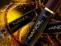 Zwei Schritte zu schönen Haaren mit Nanoil
